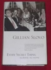 EVERY SECRET THING ~ Gillian Slovo ~ MY FAMILY MY COUNTRY ~ Hardcover D/J