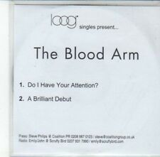 (DG268) The Blood Arm, Do I Have Your Attention? - DJ CD