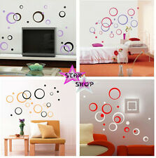 VINILO CIRCULOS DECORATIVO ADHESIVO DECORACION COMEDOR PARED WALL STICKER VINYL