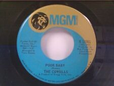 "COWSILLS ""POOR BABY / MEET ME AT THE WISHING WELL"" 45"