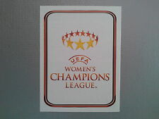 PANINI CHAMPIONS LEAGUE 2010 2011 - N.563 WOMEN'S CHAMPIONS LEAGUE