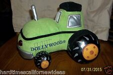 Bestever Dollywood Green Black Tractor Plush With Sounds