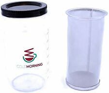 Cold Brew Coffee and Iced Tea Maker, Mason Jar Compatible Filter by Cold Morning