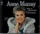 ANNE MURRAY - WHAT A WONDERFUL CHRISTMAS- MINT 2 CD SET