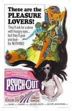 Psych Out Poster 01 A3 Box Canvas Print