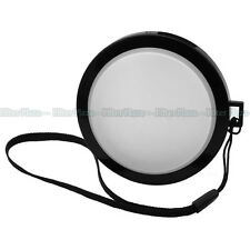 82mm White Balance WB Lens Front Cap w/Filter Mount for Canon Nikon Sony DSLR DV