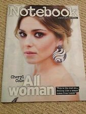 Girls Aloud CHERYL COLE Photo Cover Interv/w June 2014 Hank Marvin Cliff Richard