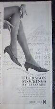 1964 Ultrason Stockings by Berkshire Hosiery Legs Ad