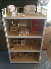 Vintage Sindy Dolls House 1980's including Furniture & Accessories FREE P&P