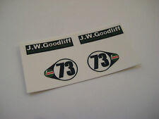 Corgi Juniors  21-C      B.V.R.T Vita Mini Cooper Stickers         Full Set