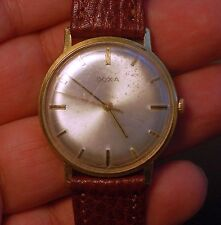 Vintage swiss made watch DOXA SYNCHRON 40 17 jewels working condition