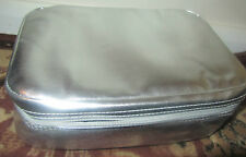 New Schwarzkopf Professional Beauty Vanity Makeup Bag in Silver