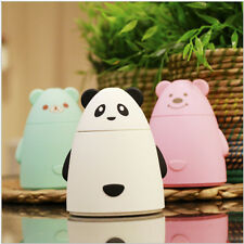 Lovely Panda LED Essential Oil Aroma Diffuser Air Humidifier Purifier/white