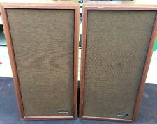 Set Of Realistic Tandy Corp. Optimus-1B Vintage Speakers