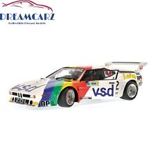 Minichamps 180812972 1/18 BMW M1 Procar #72 24H Le Mans 1981