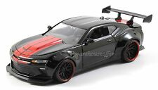 JADA 1/24 DISPLAY BIG TIME MUSCLE 2016 CHEVROLET CAMARO SS WIDE BODY GT 98140 BK