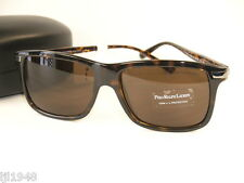 Polo Ralph Lauren Tortoise Sunglasses + Polo RL Case Made in Italy Men's NWT