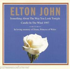 ELTON JOHN - Something About.../Candle In The Wind 1997 (Indonesian CD Single)