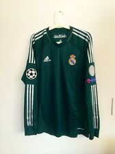 RONALDO, 2012-13  REAL MADRID LS AWAY CHAMPIONS LEAGUE MATCH UN WORN SHIRT