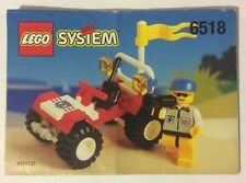 LEGO 6518 Notice de Montage Instruction Booklet 1996 Baja Buggy