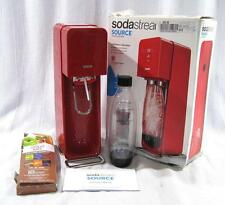 SodaStream Source Home Soda Maker Starter Kit Red NO CO2