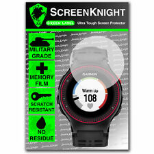 Screenknight Garmin Forerunner 225 Protector De Pantalla Invisible Militar Escudo