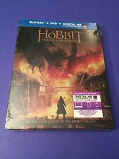The Hobbit The Battle of The Five Armies Blu-ray Combo Limited Steelbook Edition