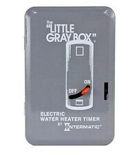 Intermatic Electric Water Heater Energy Bill Saver Time Switch 40-Amp 240-Volt