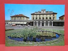 NOVARA Stazione ferroviaria vecchia cartolina