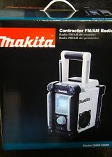 Makita BMR100W LXT 18v Cordless Contractor FM/AM Job Site Radio Mp3 Li-Ion NEW