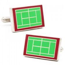 Wimbledon Tennis Court design CUFFLINKS New in Gift Box 50% off!