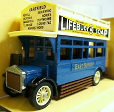 Y-23 AEC OMNIBUS tipo S 1922 Lifebuoy soap MINT BOXED MATCHBOX YESTERYEAR V. 1989