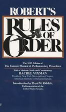 Robert's Rules of Order: The 1893 Edition of the Famous Manual of Parliamentary