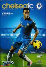 Football Programme CHELSEA v ASTON VILLA Dec 2012