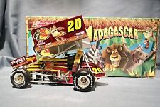 DANNY LASOSKI RARE COLOR CHROME MADAGASCAR 1:24 SPRINT RACE CAR ACTION GMP R&R