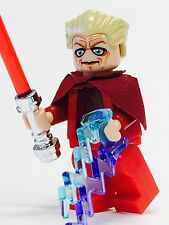 LEGO STAR WARS EMPEROR CHANCELLOR PALPATINE SIDIOUS JEDI SITH W/FORCE LIGHTNING