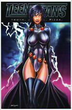 RAVEN / TEEN TITANS Print HAND SIGNED by Jamie Tyndall w COA