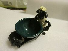 McDONALDS HAPPY MEAL TOY SHAUN THE SHEEP WHEELBARROW EGG CUP NO PACKAGING