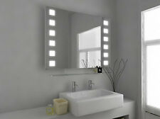 Illuminated Bathroom Mirror with Sensor, Shaver and Demister - Neo - c29d