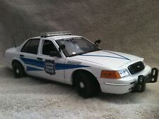 INDIANA STATE POLICE FD CRWN VC UT DIECAST MODEL 1/18 SCALE NON WORKING LIGHTS