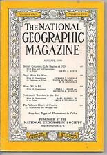 national geographic-AUG 1958-BRITISH COLUMBIA:LIFE BEGINS AT 100.