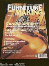FURNITURE & CABINETMAKING - NEST OF TABLES - FEB 2001