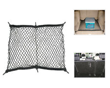 Universal 60x60cm Car Trunk Rear Cargo Organizer Storage Net Flexible Nylon