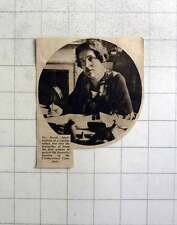1937 Dr Brock, First Woman Freedom Of Cloth Workers Company