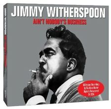 Ain't Nobody's Business - Jimmy Witherspoon (2012, CD NEUF)2 DISC SET