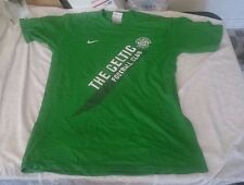 EUC MENS NIKE THE CELTIC FOOTBALL CLUB RINGER T SHIRT Small GREEN