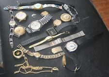 LARGE BOX OF VINTAGE WATCHES AND PARTS