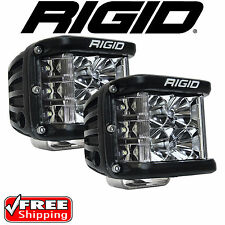 RIGID Industries 26221 Pair of D-SS Side Shooter LED Lights Spot D-Series Jeep