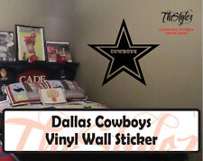 Dallas Cowboys Custom Vinyl Wall Sticker