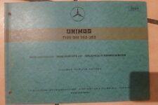 Mercedes Unimog Motoren OM352 / OM353 Ersatzteilkatalog